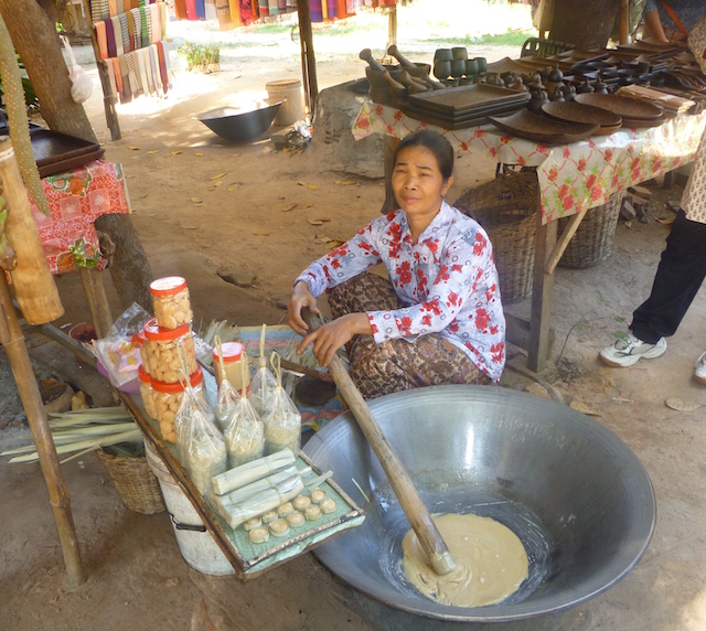 Palm Sugar Making Siem Reap